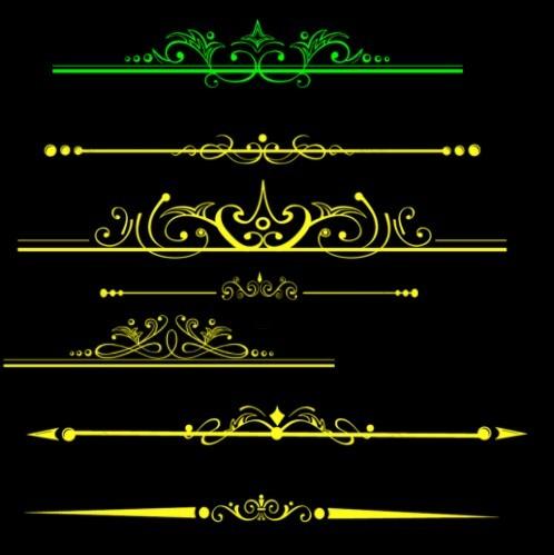 古典 装饰 分割线 ps笔刷