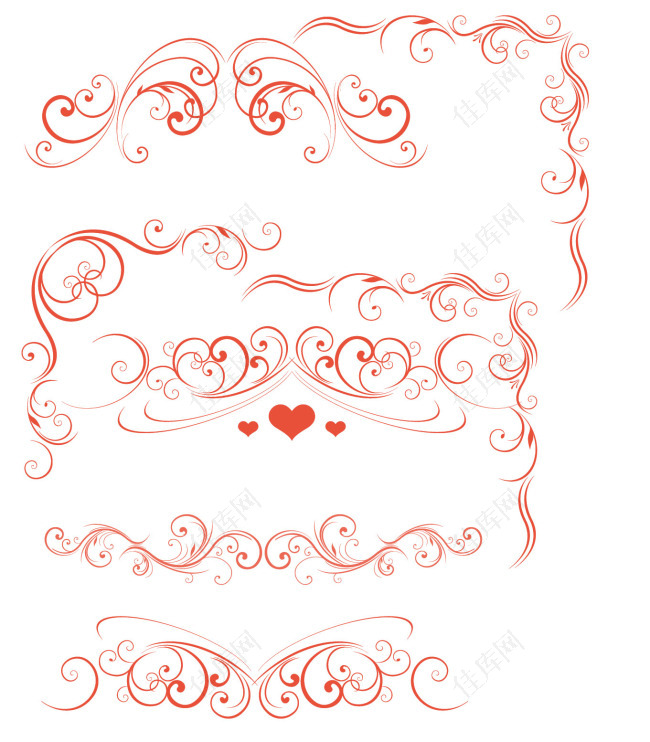 花纹花边笔刷
