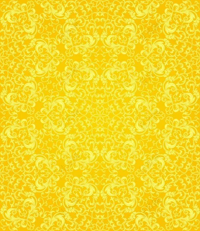 金色古典底纹