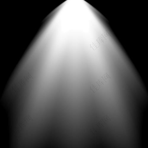 灯光照射的光束笔刷