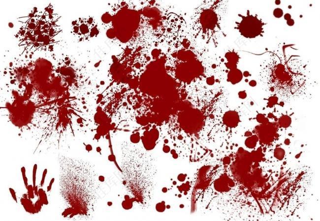 ps血迹笔刷大全图片